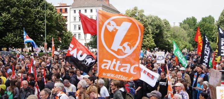 Globalisierungsgegner: Bundesfinanzhof spricht Attac die Gemeinnützigkeit ab