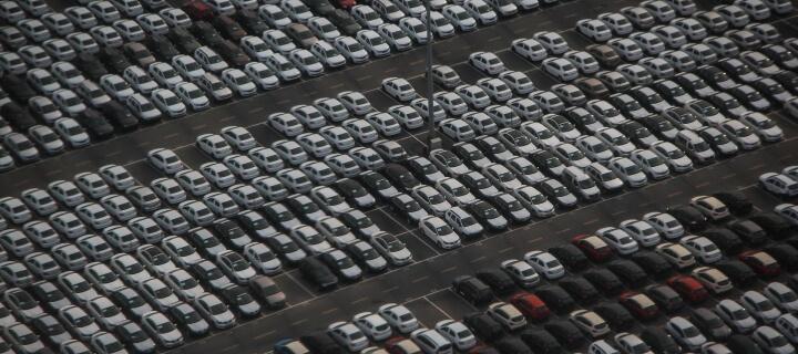 Automarkt: Neuzulassungen in der Europäischen Union um 76 Prozent eingebrochen