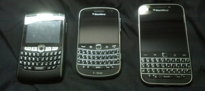 Smartphone-Traditionsmarke Blackberry vor dem endgültigen Aus