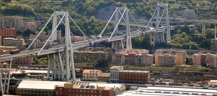 Autobahnbrücke Einsturz