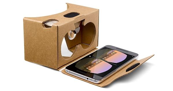 Google Cardboard VR-Brille © google.com / Google