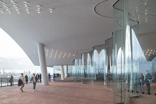 Elbphilharmonie - Plaza © elbphilharmonie.de / Iwan Baan