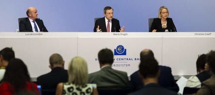 Europäische Zentralbank: Negativzins für Banken sinkt auf -0,5 Prozent