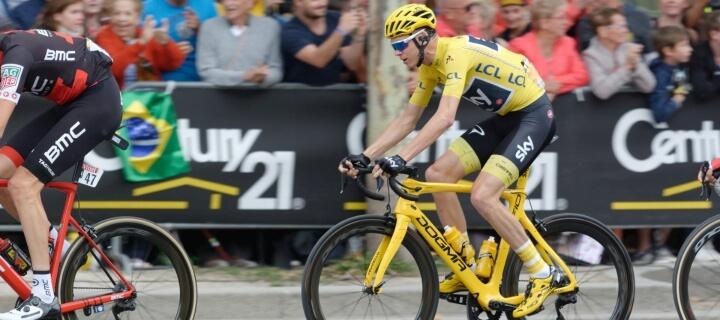 Schwerer Sturz: Vierfacher Champion Chris Froome fällt für Tour de France aus