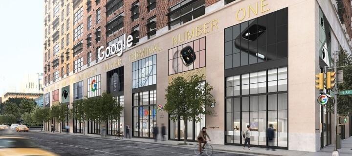 Google eröffnet ersten eigenen Retail Store in New York