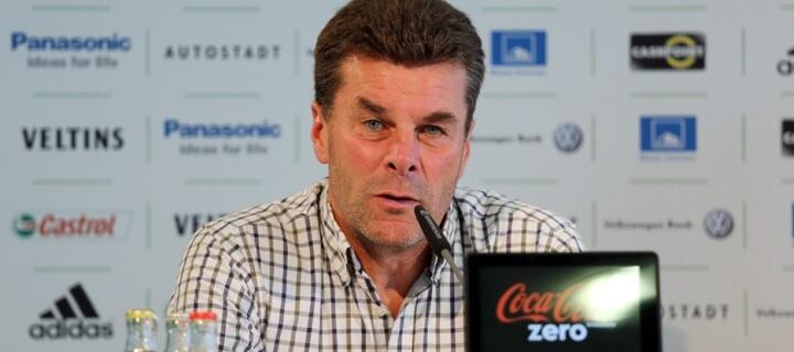 Mission Aufstieg: Dieter Hecking als Trainer des Hamburger SV vorgestellt