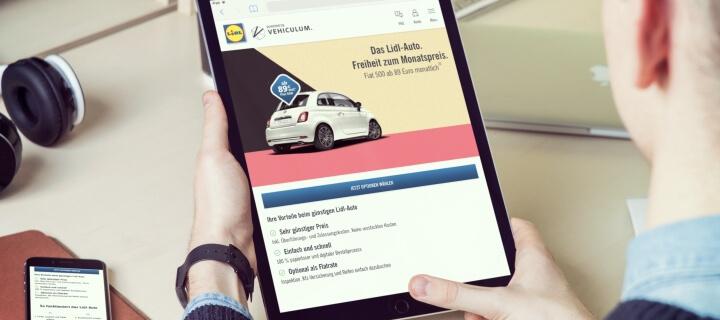 Kooperation mit Vehiculum: Lidl steigt ins Autoleasing-Geschäft ein