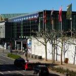 Feuer in Mainzer Rheingoldhalle richtet vermutlich Millionenschaden an