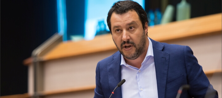 Immunität aufgehoben: Ehemaligem italienischen Innenminister Matteo Salvini drohen 15 Jahre Haft