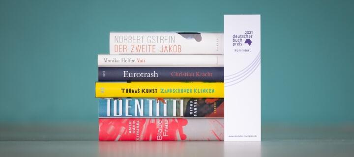Deutscher Buchpreis 2021: Je drei Männer und Frauen auf der Shortlist